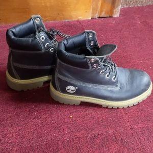 Timberland Women Black Heavy Duty Boot US 4.5